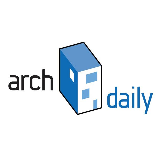 publicatie wijn aan de kade op ArchDaily